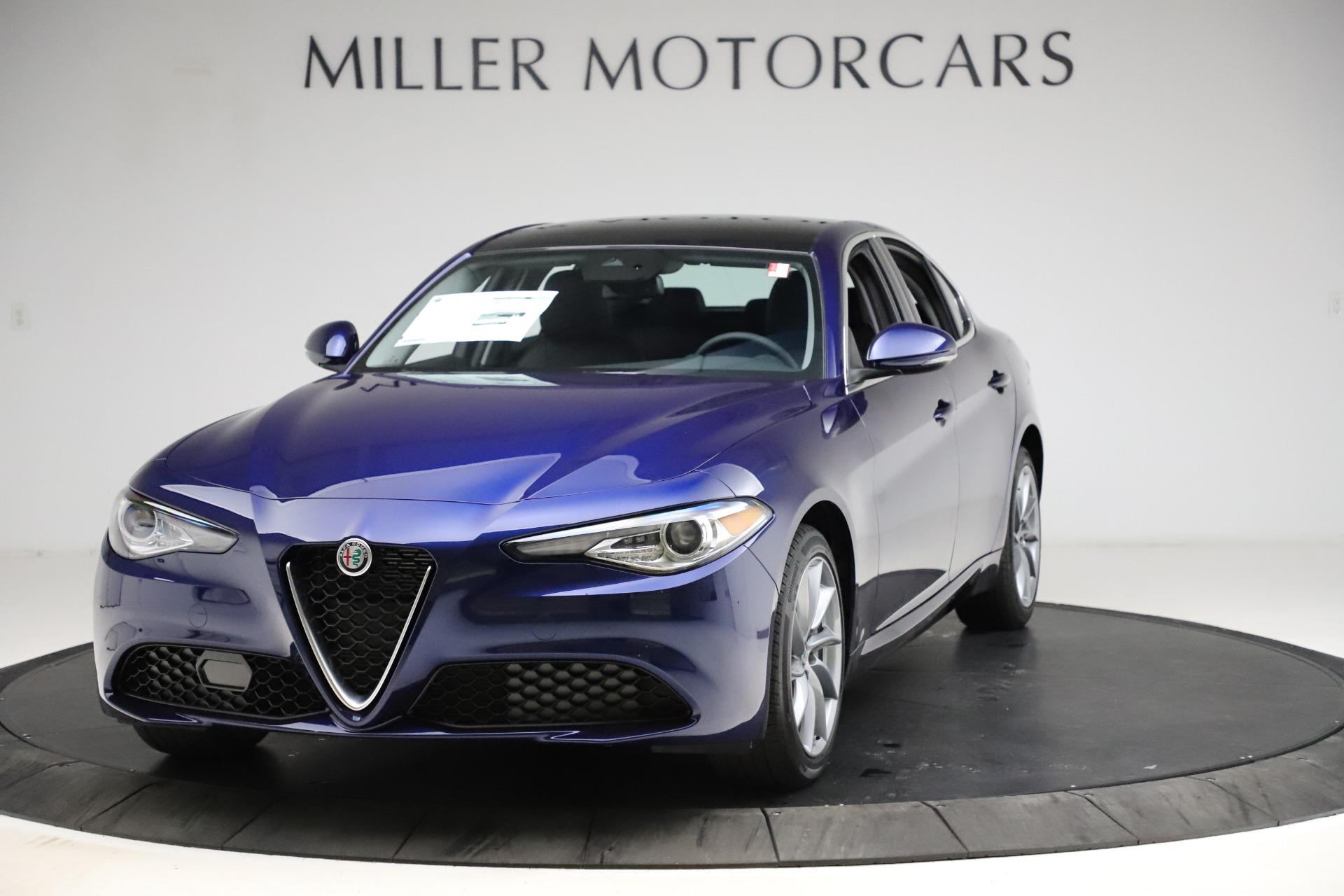 New 2021 Alfa Romeo Giulia Q4 for sale Call for price at Bugatti of Greenwich in Greenwich CT 06830 1