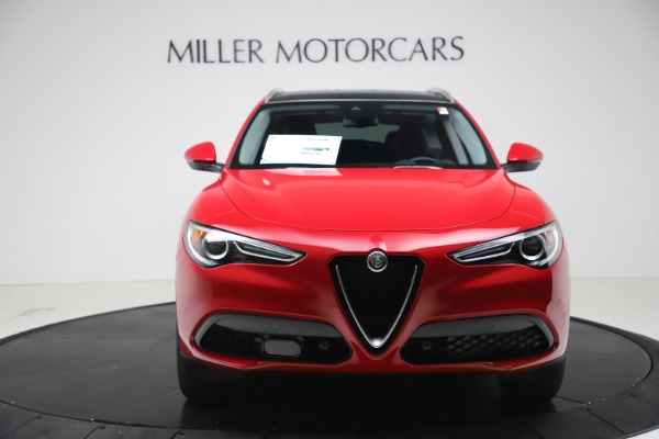 New 2021 Alfa Romeo Stelvio Q4 for sale $47,735 at Bugatti of Greenwich in Greenwich CT 06830 12