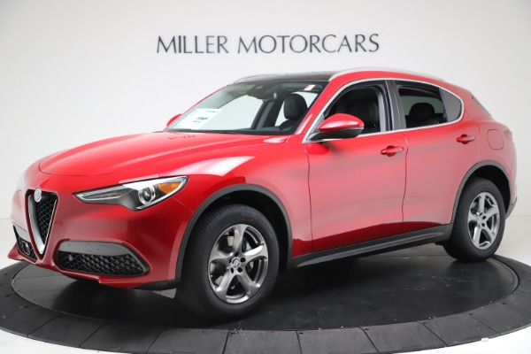 New 2021 Alfa Romeo Stelvio Q4 for sale Call for price at Bugatti of Greenwich in Greenwich CT 06830 2