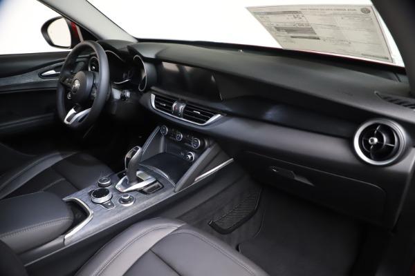 New 2021 Alfa Romeo Stelvio Q4 for sale Call for price at Bugatti of Greenwich in Greenwich CT 06830 23