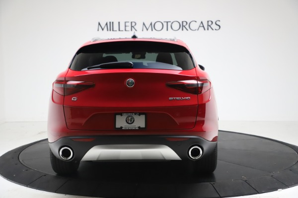New 2021 Alfa Romeo Stelvio Q4 for sale $47,735 at Bugatti of Greenwich in Greenwich CT 06830 6