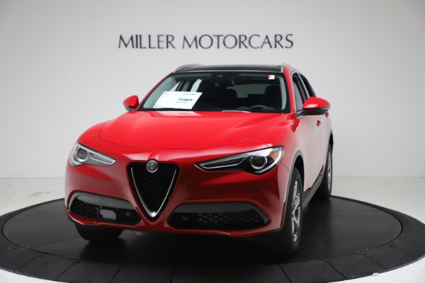 New 2021 Alfa Romeo Stelvio Q4 for sale $47,735 at Bugatti of Greenwich in Greenwich CT 06830 1