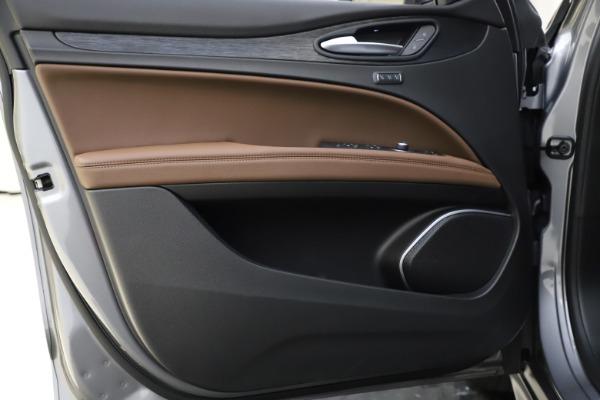 New 2021 Alfa Romeo Stelvio Q4 for sale Sold at Bugatti of Greenwich in Greenwich CT 06830 18
