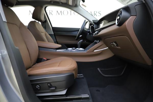 New 2021 Alfa Romeo Stelvio Q4 for sale Sold at Bugatti of Greenwich in Greenwich CT 06830 22