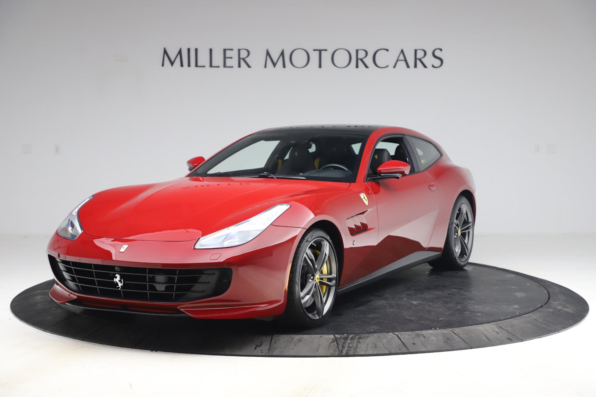 Used 2019 Ferrari GTC4Lusso for sale Call for price at Bugatti of Greenwich in Greenwich CT 06830 1