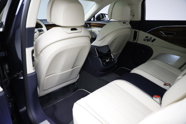 New 2021 Bentley Flying Spur V8 First Edition for sale Call for price at Bugatti of Greenwich in Greenwich CT 06830 21