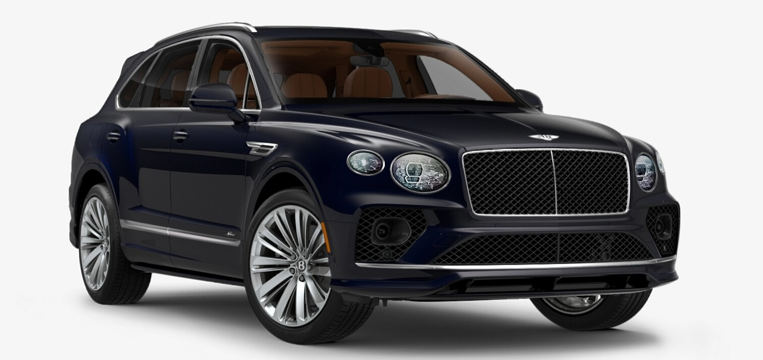 New 2021 Bentley Bentayga Speed Edition for sale $272,895 at Bugatti of Greenwich in Greenwich CT 06830 1