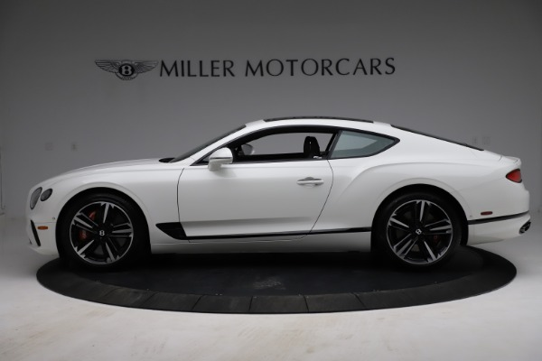 New 2021 Bentley Continental GT V8 for sale Call for price at Bugatti of Greenwich in Greenwich CT 06830 3