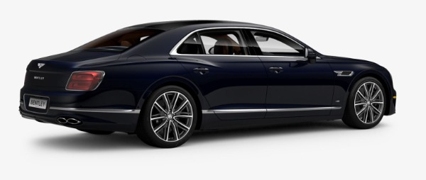 New 2021 Bentley Flying Spur V8 for sale $228,655 at Bugatti of Greenwich in Greenwich CT 06830 3