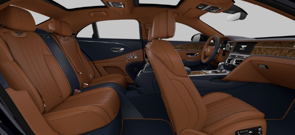 New 2021 Bentley Flying Spur V8 for sale $228,655 at Bugatti of Greenwich in Greenwich CT 06830 9
