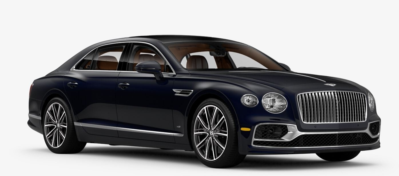 New 2021 Bentley Flying Spur V8 for sale $228,655 at Bugatti of Greenwich in Greenwich CT 06830 1