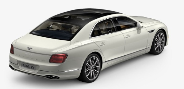 New 2021 Bentley Flying Spur V8 for sale $230,420 at Bugatti of Greenwich in Greenwich CT 06830 3