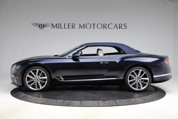 New 2021 Bentley Continental GTC V8 for sale $276,830 at Bugatti of Greenwich in Greenwich CT 06830 15