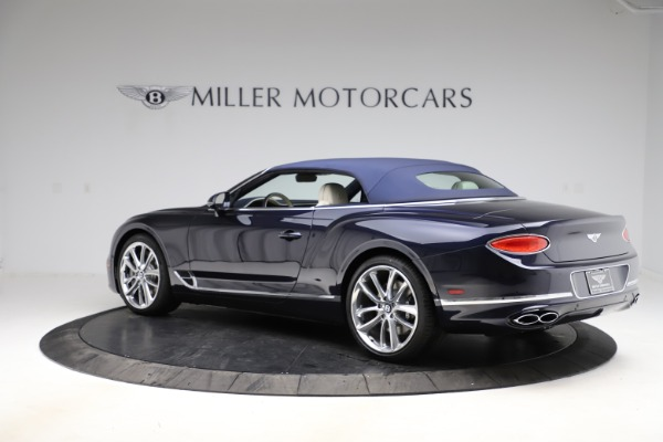 New 2021 Bentley Continental GTC V8 for sale $276,830 at Bugatti of Greenwich in Greenwich CT 06830 16