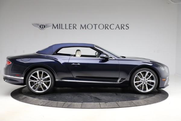 New 2021 Bentley Continental GTC V8 for sale $276,830 at Bugatti of Greenwich in Greenwich CT 06830 19