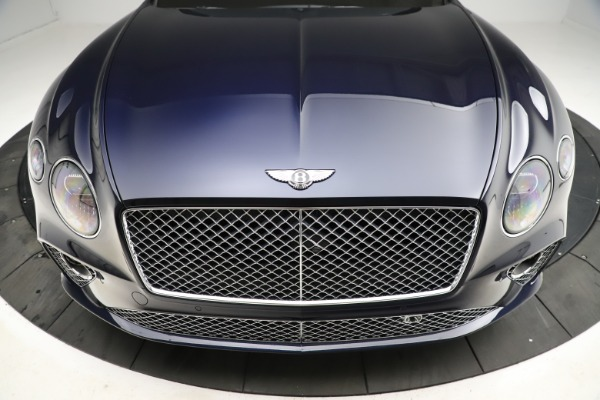 New 2021 Bentley Continental GTC V8 for sale $276,830 at Bugatti of Greenwich in Greenwich CT 06830 21