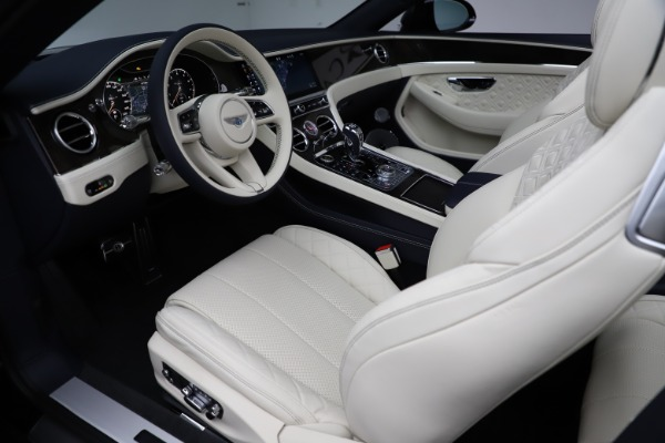 New 2021 Bentley Continental GTC V8 for sale $276,830 at Bugatti of Greenwich in Greenwich CT 06830 25
