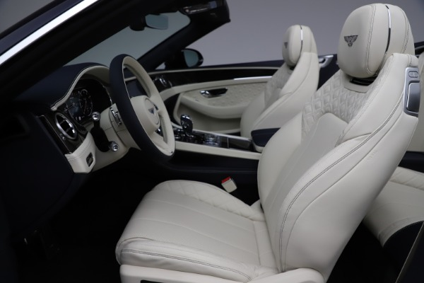 New 2021 Bentley Continental GTC V8 for sale $276,830 at Bugatti of Greenwich in Greenwich CT 06830 26