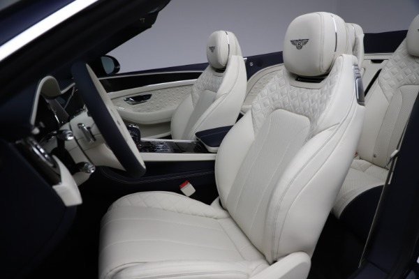 New 2021 Bentley Continental GTC V8 for sale $276,830 at Bugatti of Greenwich in Greenwich CT 06830 27