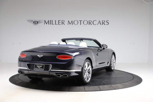 New 2021 Bentley Continental GTC V8 for sale $276,830 at Bugatti of Greenwich in Greenwich CT 06830 7