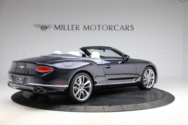 New 2021 Bentley Continental GTC V8 for sale $276,830 at Bugatti of Greenwich in Greenwich CT 06830 8
