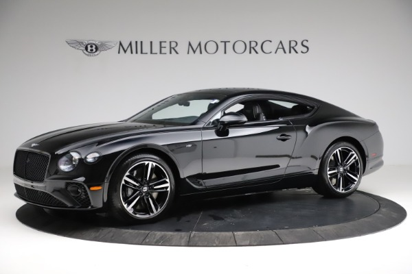 New 2021 Bentley Continental GT V8 for sale $254,095 at Bugatti of Greenwich in Greenwich CT 06830 2