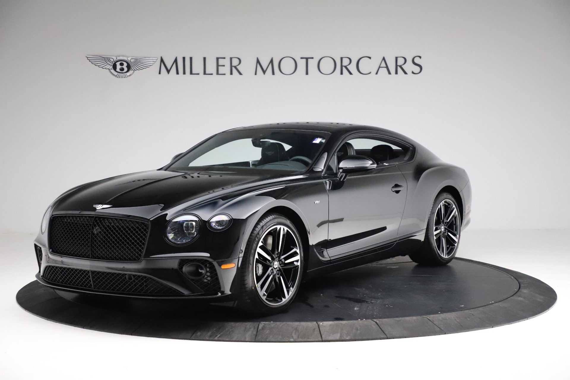 New 2021 Bentley Continental GT V8 for sale $254,095 at Bugatti of Greenwich in Greenwich CT 06830 1