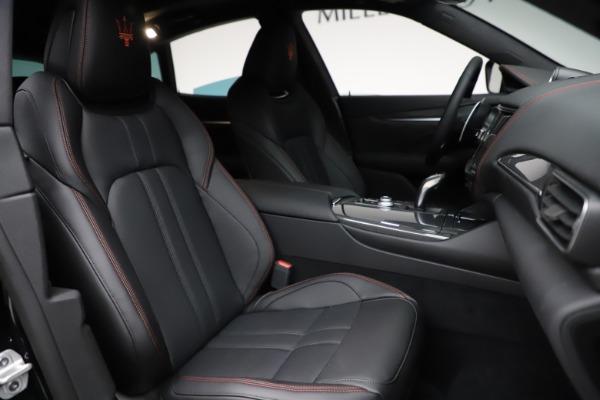 New 2021 Maserati Levante Q4 GranSport for sale Sold at Bugatti of Greenwich in Greenwich CT 06830 23