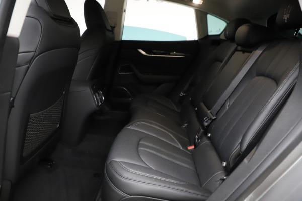 New 2021 Maserati Levante Q4 GranSport for sale $93,585 at Bugatti of Greenwich in Greenwich CT 06830 19