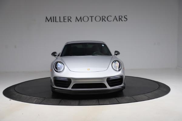 Used 2019 Porsche 911 Turbo S for sale $177,900 at Bugatti of Greenwich in Greenwich CT 06830 12