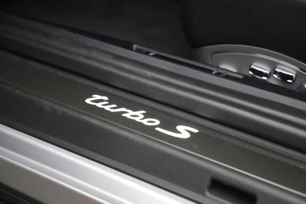 Used 2019 Porsche 911 Turbo S for sale $177,900 at Bugatti of Greenwich in Greenwich CT 06830 15