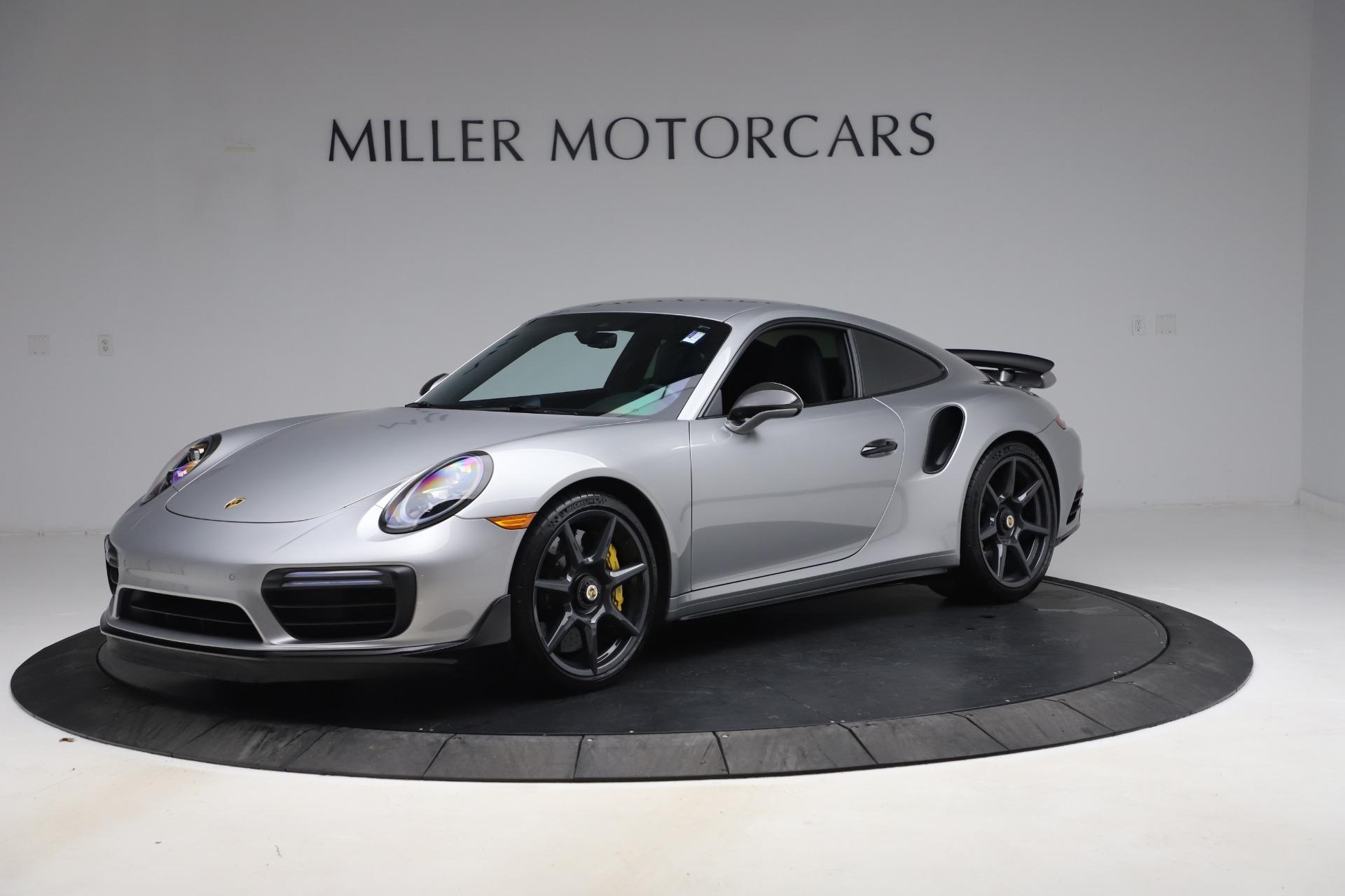 Used 2019 Porsche 911 Turbo S for sale $177,900 at Bugatti of Greenwich in Greenwich CT 06830 1