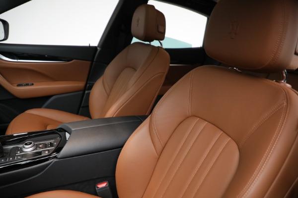 New 2021 Maserati Levante Q4 for sale $85,625 at Bugatti of Greenwich in Greenwich CT 06830 16