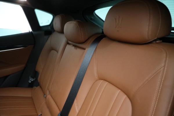 New 2021 Maserati Levante Q4 for sale $85,625 at Bugatti of Greenwich in Greenwich CT 06830 20