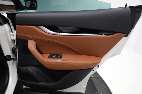New 2021 Maserati Levante Q4 for sale $85,625 at Bugatti of Greenwich in Greenwich CT 06830 28