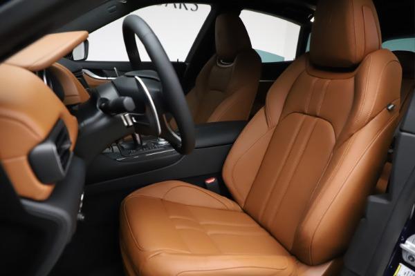 New 2021 Maserati Levante S Q4 GranSport for sale $100,185 at Bugatti of Greenwich in Greenwich CT 06830 15