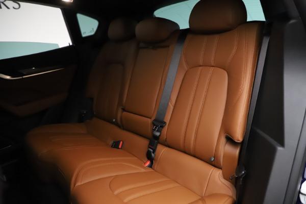 New 2021 Maserati Levante S Q4 GranSport for sale $100,185 at Bugatti of Greenwich in Greenwich CT 06830 20