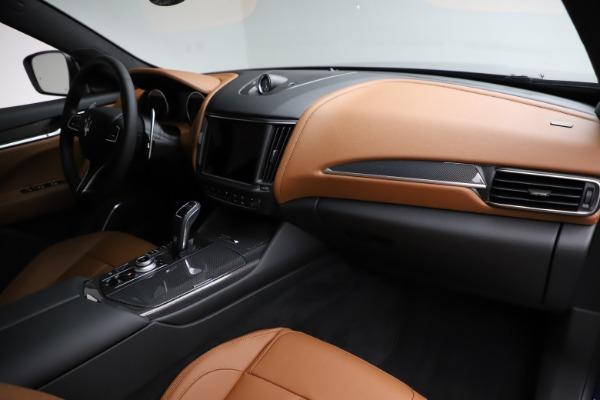 New 2021 Maserati Levante S Q4 GranSport for sale $100,185 at Bugatti of Greenwich in Greenwich CT 06830 22