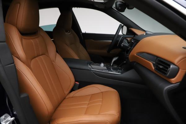 New 2021 Maserati Levante S Q4 GranSport for sale $100,185 at Bugatti of Greenwich in Greenwich CT 06830 23