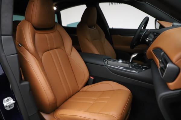 New 2021 Maserati Levante S Q4 GranSport for sale $100,185 at Bugatti of Greenwich in Greenwich CT 06830 24