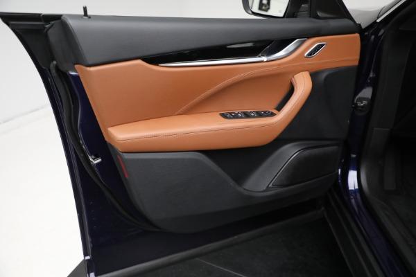 New 2021 Maserati Levante Q4 for sale Call for price at Bugatti of Greenwich in Greenwich CT 06830 14