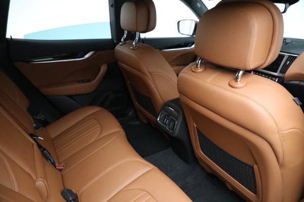 New 2021 Maserati Levante Q4 for sale Call for price at Bugatti of Greenwich in Greenwich CT 06830 18