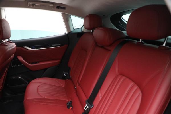 New 2021 Maserati Levante Q4 for sale Call for price at Bugatti of Greenwich in Greenwich CT 06830 17