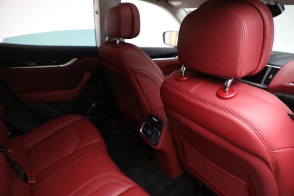 New 2021 Maserati Levante Q4 for sale Call for price at Bugatti of Greenwich in Greenwich CT 06830 22