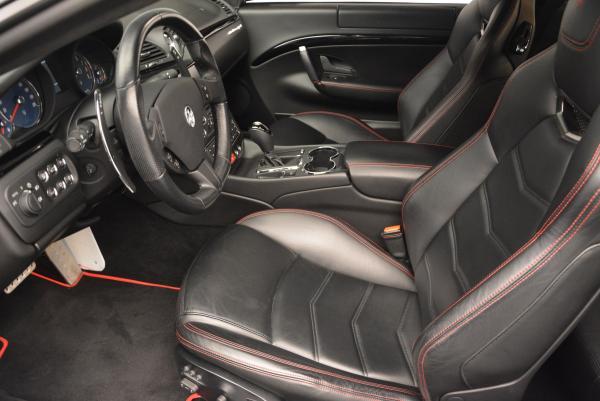 Used 2013 Maserati GranTurismo Sport for sale Sold at Bugatti of Greenwich in Greenwich CT 06830 14