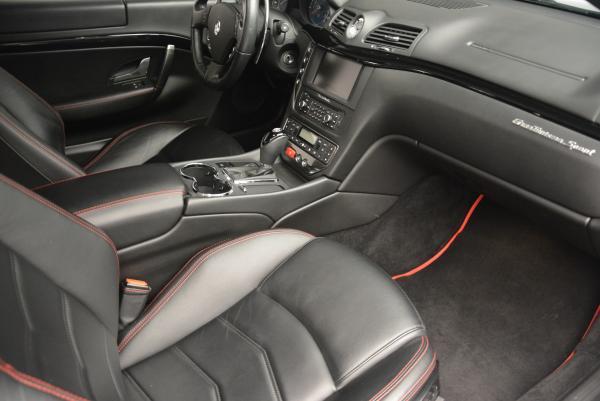 Used 2013 Maserati GranTurismo Sport for sale Sold at Bugatti of Greenwich in Greenwich CT 06830 17