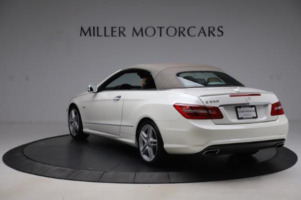 Used 2012 Mercedes-Benz E-Class E 550 for sale $29,990 at Bugatti of Greenwich in Greenwich CT 06830 14