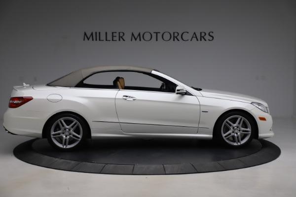 Used 2012 Mercedes-Benz E-Class E 550 for sale $29,990 at Bugatti of Greenwich in Greenwich CT 06830 17
