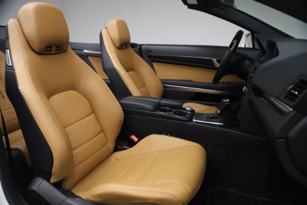 Used 2012 Mercedes-Benz E-Class E 550 for sale $29,990 at Bugatti of Greenwich in Greenwich CT 06830 22
