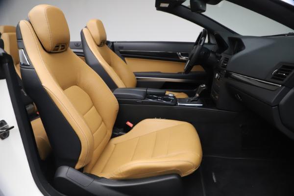 Used 2012 Mercedes-Benz E-Class E 550 for sale $29,990 at Bugatti of Greenwich in Greenwich CT 06830 24